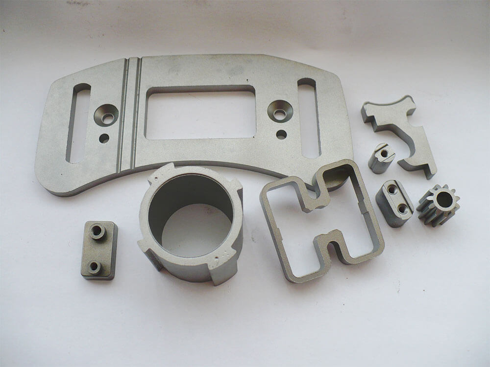 sintered textile machine components