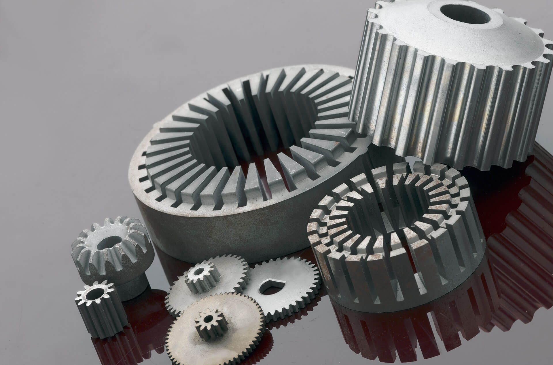 sintered electric motor components